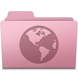 Sites Folder Sakura Icon 256x256 png