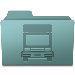 Transmit Folder Willow Icon 256x256 png