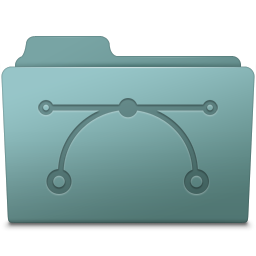 Vector Folder Willow Icon 256x256 png
