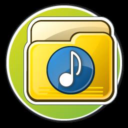 My Music Folder Icon - Spring Desktop Icons - SoftIcons.com
