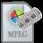 Movie Type MPEG Icon