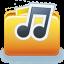 Folder Audio Documents Icon 64x64 png