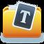 Folder Fonts Icon 64x64 png