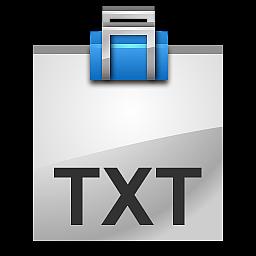 File TXT Icon - ToyFactory Icons - SoftIcons.com