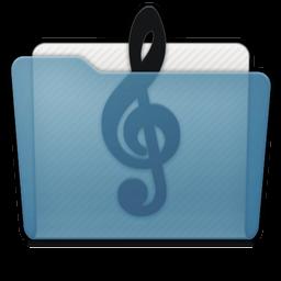 Folder Music Alt Icon 256x256 png