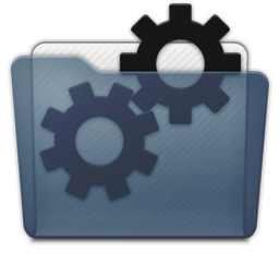 Graphite Folder Developer Icon 256x256 png