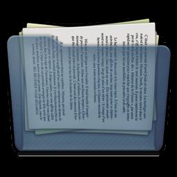 Graphite Folder Docs Icon 256x256 png