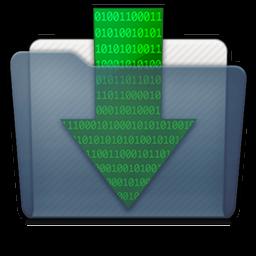 Graphite Folder Downloads Icon 256x256 png