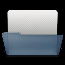 Graphite Folder Generic Open Icon 256x256 png