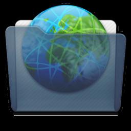 Graphite Folder Sites Icon 256x256 png