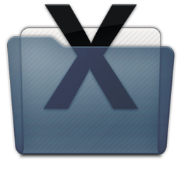 Graphite Folder System Icon 256x256 png