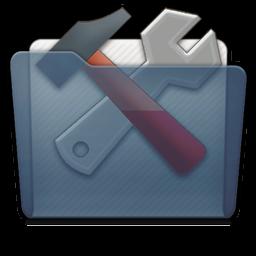 Graphite Folder Utilities Icon 256x256 png