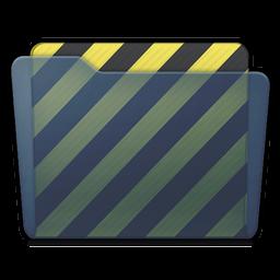 Graphite Folder Work Icon 256x256 png