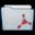 Folder Adobe Acrobat Icon 32x32 png