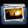Graphite Folder Pictures Alt Icon 32x32 png