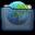 Graphite Folder Sites Icon 32x32 png