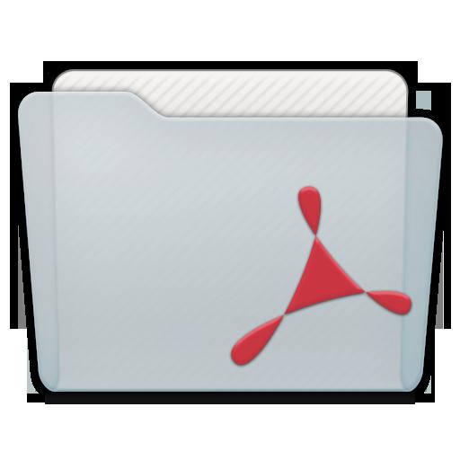Folder Adobe Acrobat Icon 512x512 png