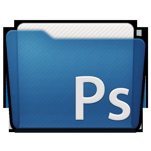 Folder Adobe PS Icon 512x512 png