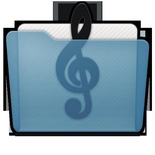 Folder Music Alt Icon 512x512 png