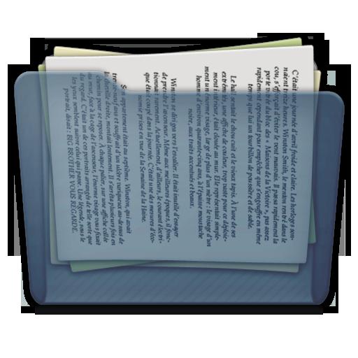 Graphite Folder Docs Icon 512x512 png