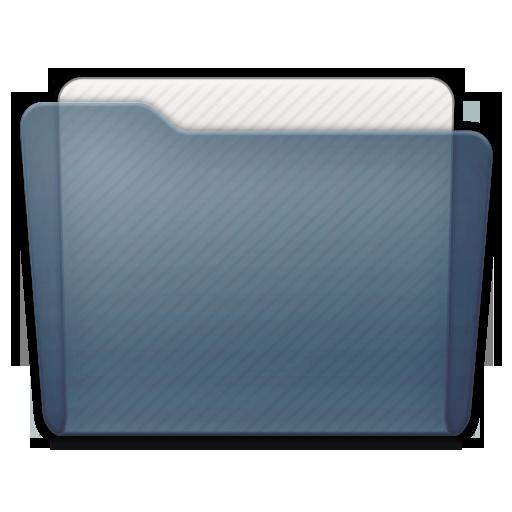 Graphite Folder Generic Icon 512x512 png
