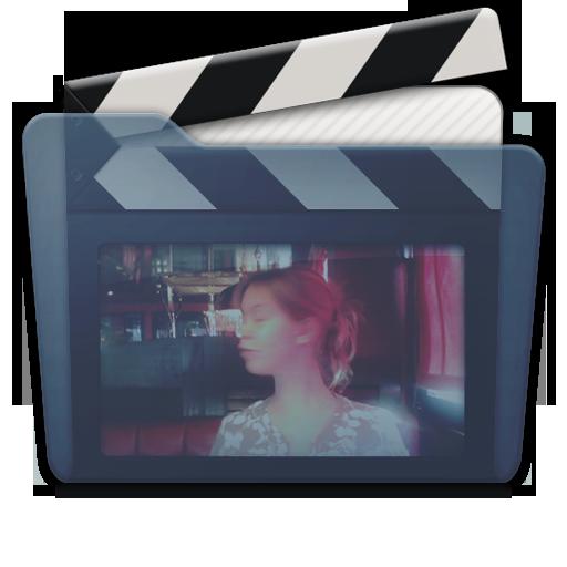 Graphite Folder Movies Alt Icon 512x512 png