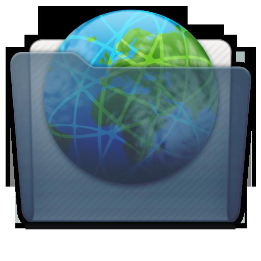 Graphite Folder Sites Icon 512x512 png