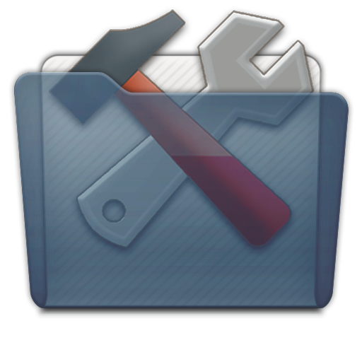 Graphite Folder Utilities Icon 512x512 png