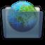Graphite Folder Sites Icon 64x64 png