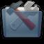 Graphite Folder Utilities Icon 64x64 png
