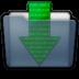 Graphite Folder Downloads Icon 72x72 png