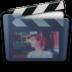 Graphite Folder Movies Alt Icon 72x72 png