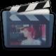 Graphite Folder Movies Alt Icon 80x80 png