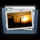 Graphite Folder Pictures Alt Icon 80x80 png