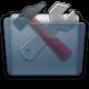 Graphite Folder Utilities Icon 80x80 png