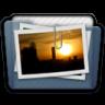 Graphite Folder Pictures Alt Icon 96x96 png