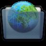 Graphite Folder Sites Icon 96x96 png