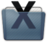 Graphite Folder System Icon 96x96 png