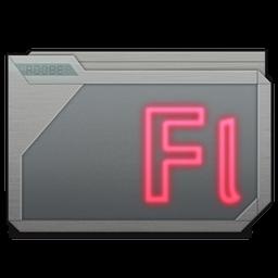 Folder Adobe Flash Alt Icon 256x256 png