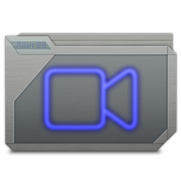 Folder Movies Alt Icon 256x256 png