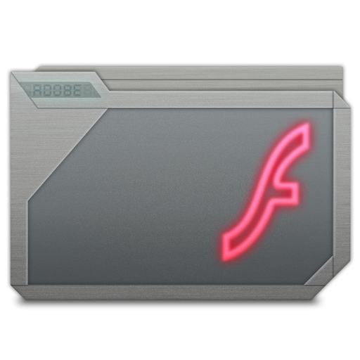 Folder Adobe Flash Icon 512x512 png