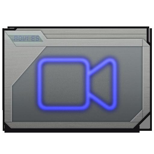Folder Movies Alt Icon 512x512 png