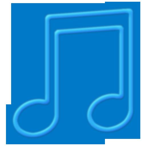 Toolbar Music Blue Icon 512x512 png