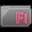 Folder Adobe Flash Alt Icon 64x64 png