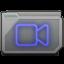Folder Movies Alt Icon 64x64 png