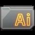 Folder Adobe Illustrator Icon 72x72 png