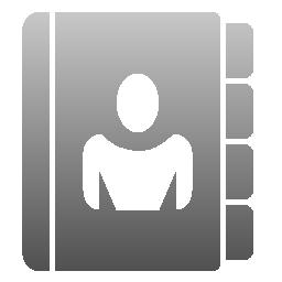 Address Book Icon Web0 2ama Icons Softicons Com