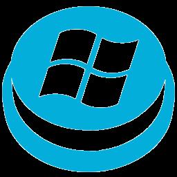 Drive Start Button Icon - Windows 8 Metro Invert Icons - SoftIcons com