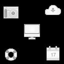 32 Soft Media Icons
