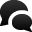 Spechbubble 2 Icon 32x32 png